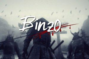 Binzo font