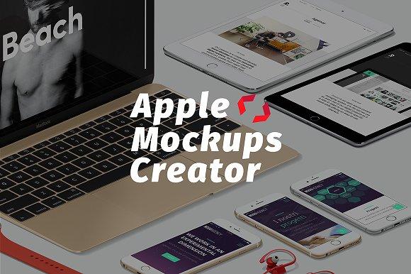 Download Apple Mockups creator