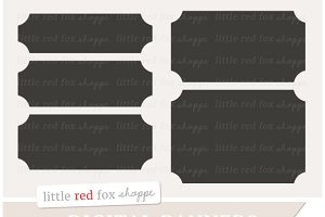 Rectangle Banner Clipart