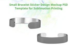 Small Bracelet Design Mockup PSDs
