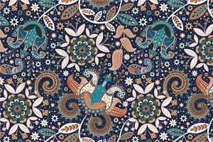 "Seamless pattern ""Garden-II"""