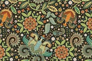 "Seamless pattern ""Garden-III"""