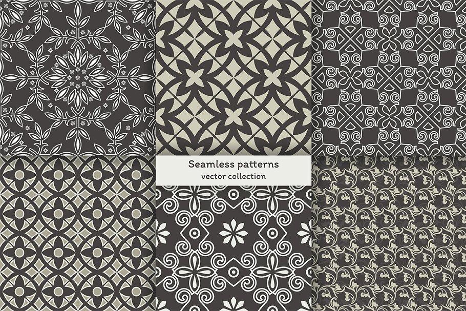 Set of seamless patterns in Patterns