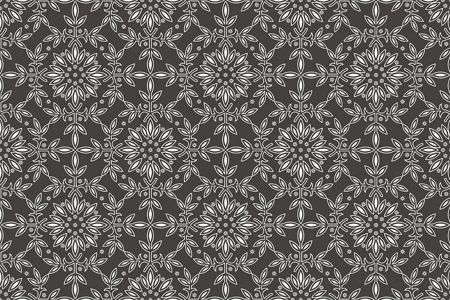 Set of seamless patterns in Patterns - product preview 1