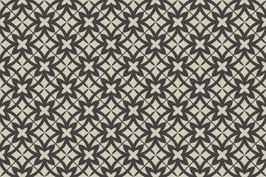 Set of seamless patterns in Patterns - product preview 2