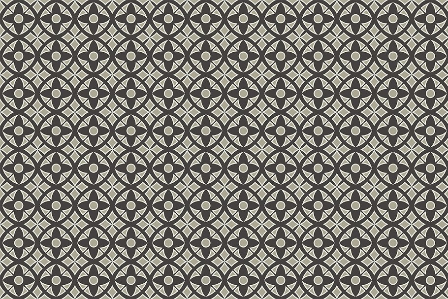 Set of seamless patterns in Patterns - product preview 4