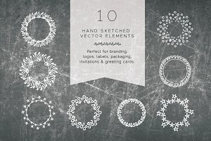 Bohemian hand-drawn Vector Art