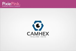 Cam Hex Logo Template