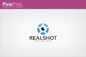 Real Shot Logo Template