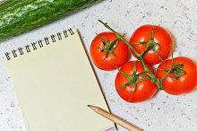 Weight loss program. Vegetables