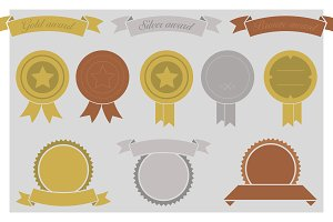 Gold, Silver & Bronze Awards