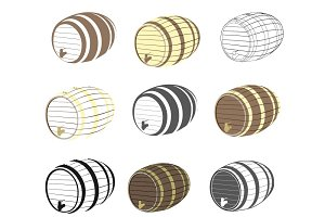 Barrel vector set