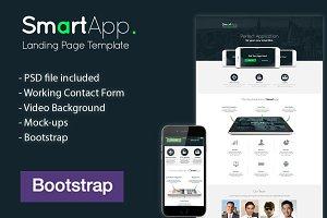 SmartApp - Boostrap Landing Page