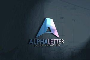 Alpha Letter Logo