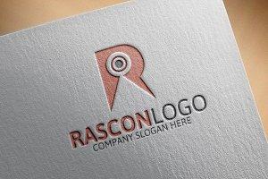 Rascon Logo/ R Letter