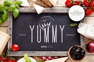Yummy - Font Family