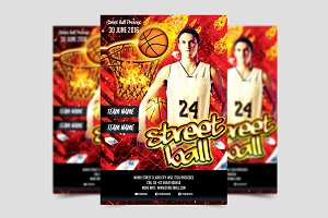 Street Ball Flyer Template