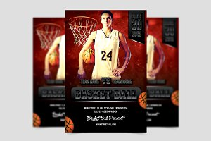 Basket Ball Flyer Template