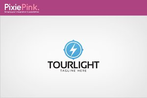 Tour Light Logo Template