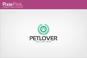 Pet Lover Logo Template