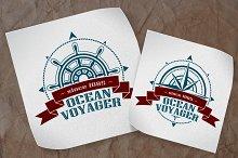 Vector Navigation Logos Set.