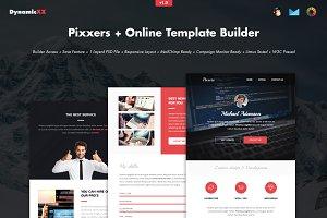 Pixxers + Online Template Builder