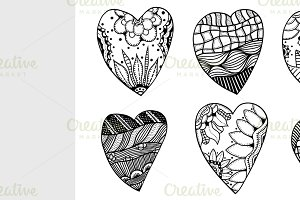 hearts in Vector