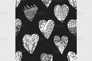 Vector ornamental heart