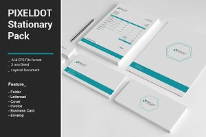 Pixeldot Stationary Pack