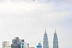 Kuala Lumpur panorama, Malaysia