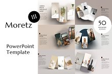 Moretz Three PowerPoint Template by  in Presentations