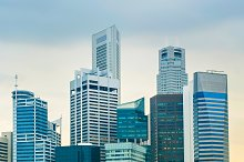 Business center, Singapore