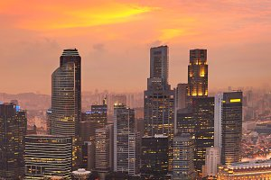Singapore colorful