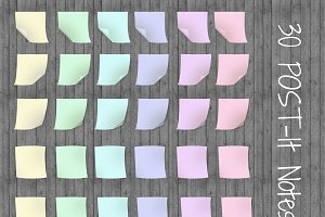 30 Post it Notes