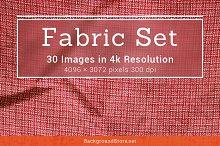 Fabric Textures Backgrounds Set