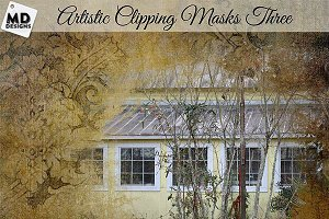 Artistic Clipping Masks Set 3