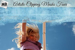 Artistic Clipping Masks Set 4