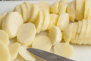 potatoes peeled
