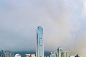 Victoria Bay. Hong Kong