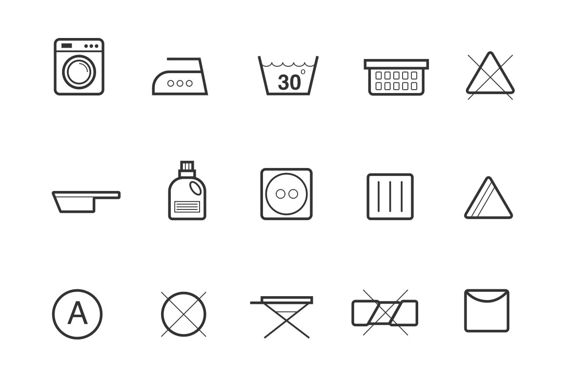 Laundry Symbols Photos Graphics Fonts Themes Templates