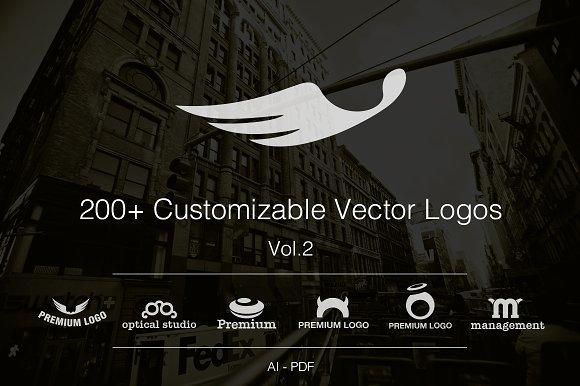 Vol.2 +200 Fully Customizable Logos - Logos