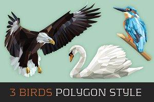 3 Birds Polygon Style