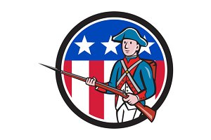American Soldier Marching Rifle USA