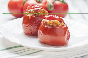 Tomatoes stuffed