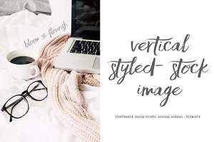 Vertical Styled Stock Image