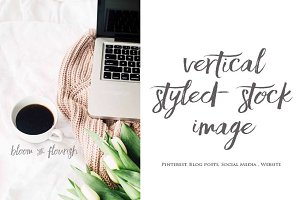 Vertical Styled Stock Image| 1