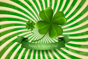 Happy St. Patrick's Day Background.