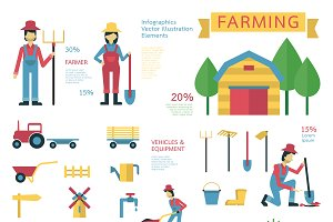 Farming and gardenning elements