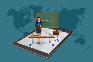 online education, business learning