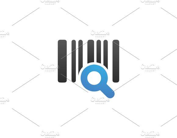barcode scanner logo template logo templates creative market
